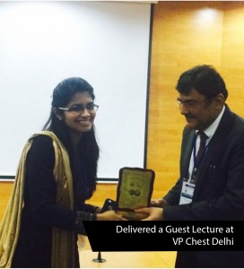 Delivered a Guest Lecture on 'Interrelationship between Allergic Diseases and Pollen Count: Our Experience at 1st Summit of Allergy Diagnosis and Allergen Immunotherapy, V.P. Chest Institute, Delhi. 8th Dec 2017